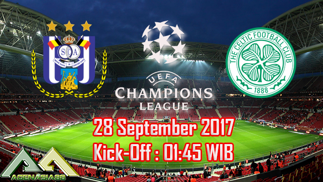 Prediksi Anderlecht Vs Celtic 28 September 2017