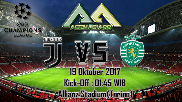 Prediksi Juventus Vs Sporting CP 18 Oktober 2017