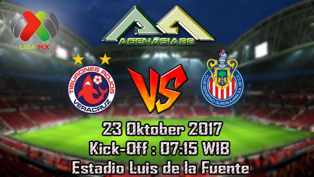 Prediksi Veracruz Vs Guadalajara 23 Oktober 2017